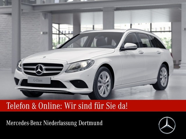 Mercedes-Benz C 200 T 4M Avantgarde PTS 9G Sitzh Sitzkomfort, Jahr 2019, Benzin