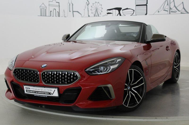 BMW Z4 M40i M Sportbr. Head-Up HK HiFi DAB LED Shz, Jahr 2019, Benzin