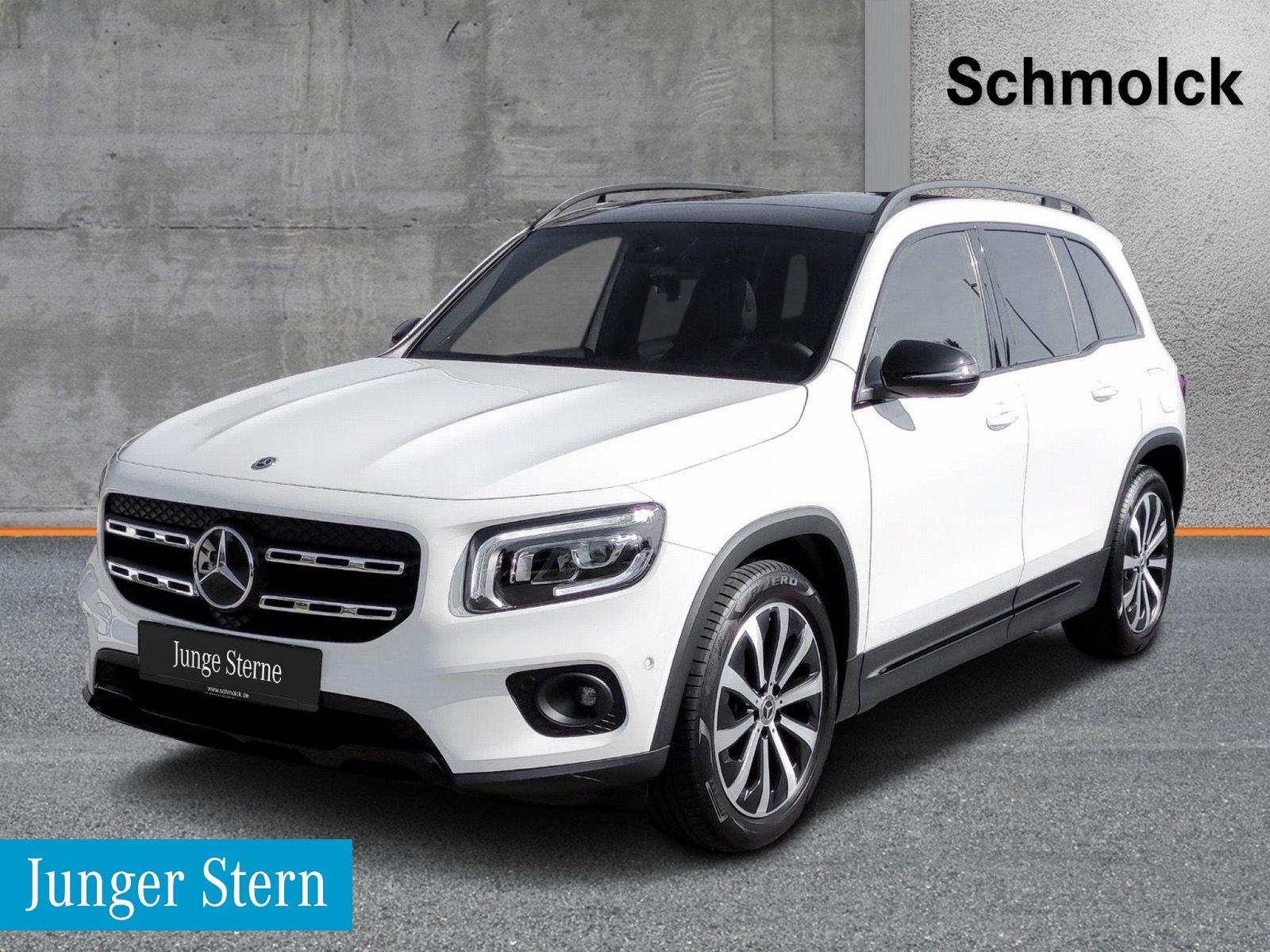 "Mercedes-Benz GLB 250 4M PROGRESS./PANO/LED/19""/NIGHT/CAM/AMBI, Jahr 2020, petrol"