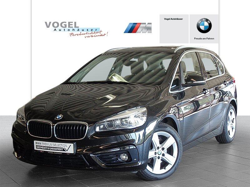 BMW 218d Active Tourer Modell Sport Line Euro 6 Navi PDC Driving Assistant Plus Parkassistent Klima Shz LED Aktiver Tempomat Pano.-Glasdach Lichtpaket, Jahr 2016, Diesel