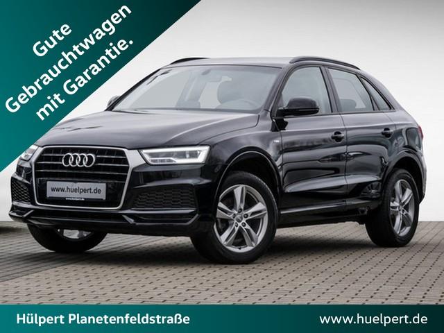 Audi Q3 1.4 S-Line LED NAVI AHK ALU18 GRA PDC, Jahr 2018, Benzin