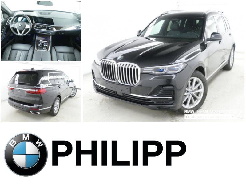 BMW X7 xDrive30d h&k Laser Sky 6-Sitze AHK TV-Fond, Jahr 2019, Diesel
