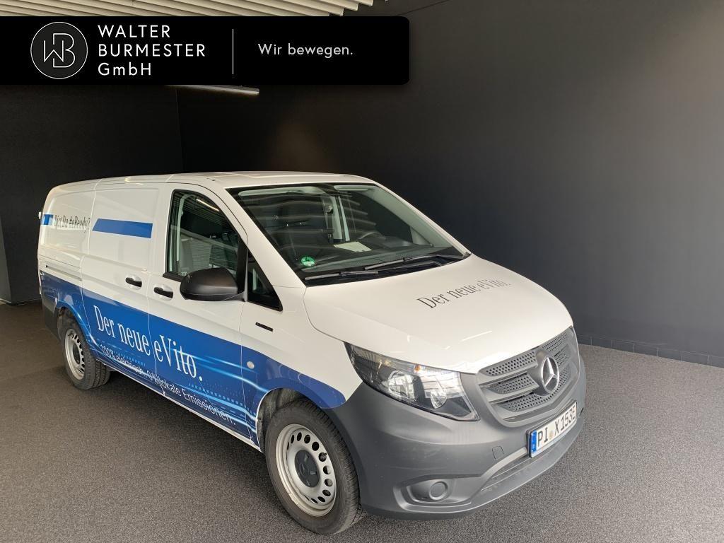 Mercedes-Benz e Vito Kasten lang Klima Navi Kamera Holzboden, Jahr 2019, Elektro