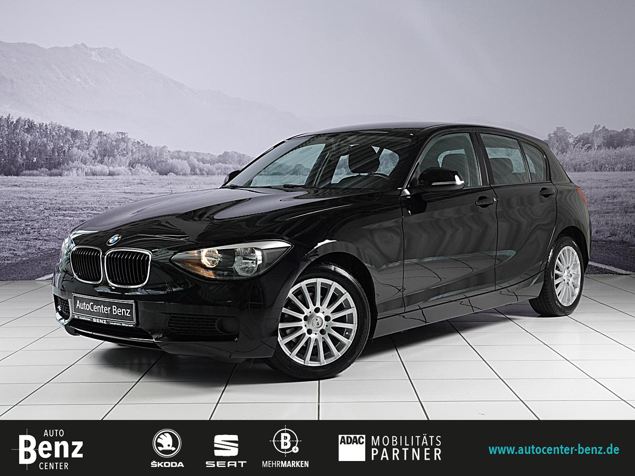 BMW 114i *CD*AHK*KLIMA*8-FACH*EL FH*AUX*START-STOP!*, Jahr 2014, Benzin