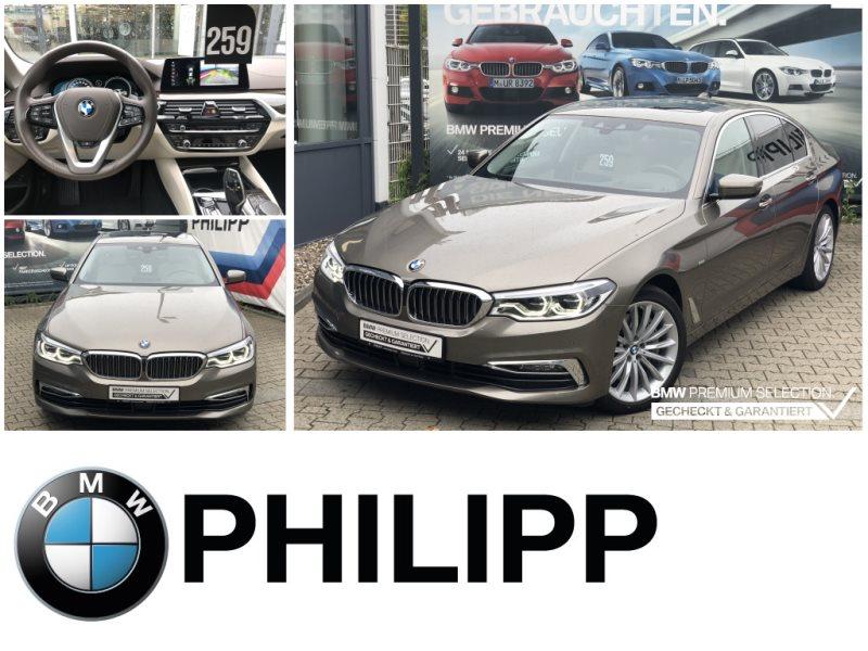 BMW 540i xDrive Luxury Line StandHg AHK DA+ Glasdach, Jahr 2017, Benzin
