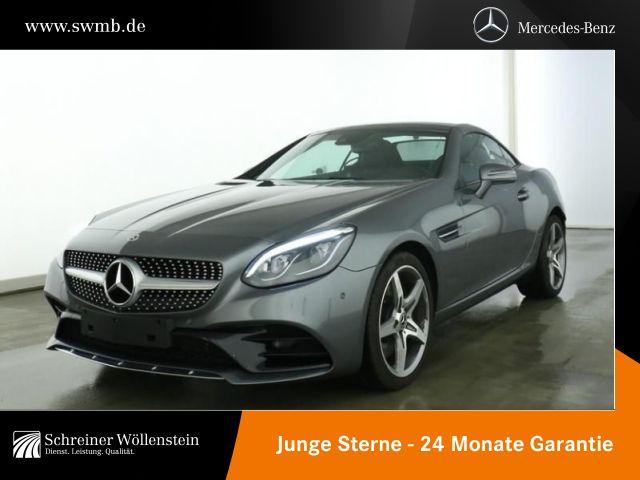 Mercedes-Benz SLC 180 AMG*LED-ILS*SHZ*9G-TR*AIR-SCARF*PDC*SHZ*, Jahr 2019, Benzin