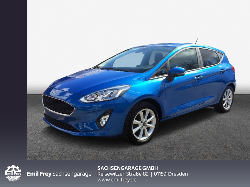 Ford Fiesta 1.0 EcoBoost S&S COOL&CONNECT Navi Allwe., Jahr 2020, Benzin