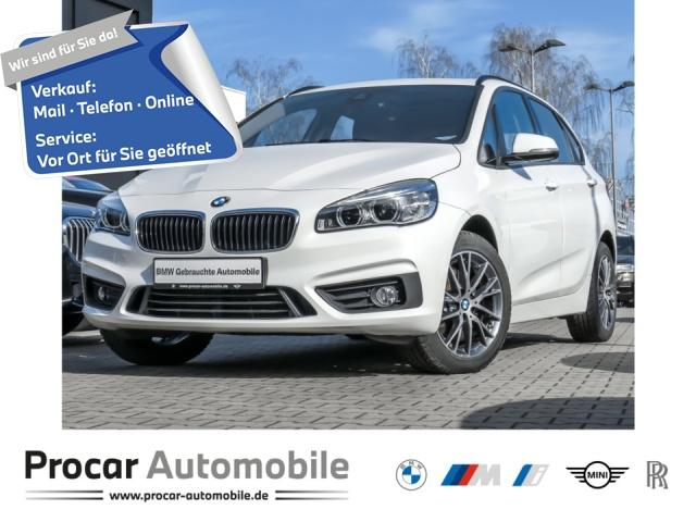 BMW 220 Active Tourer Advantage Aut. Panorama PDC, Jahr 2016, Diesel