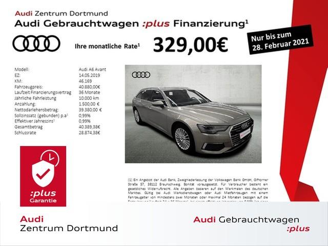 Audi A6 Avant design 40TDI ACC/STHZ/Leder/B+O, Jahr 2019, Diesel