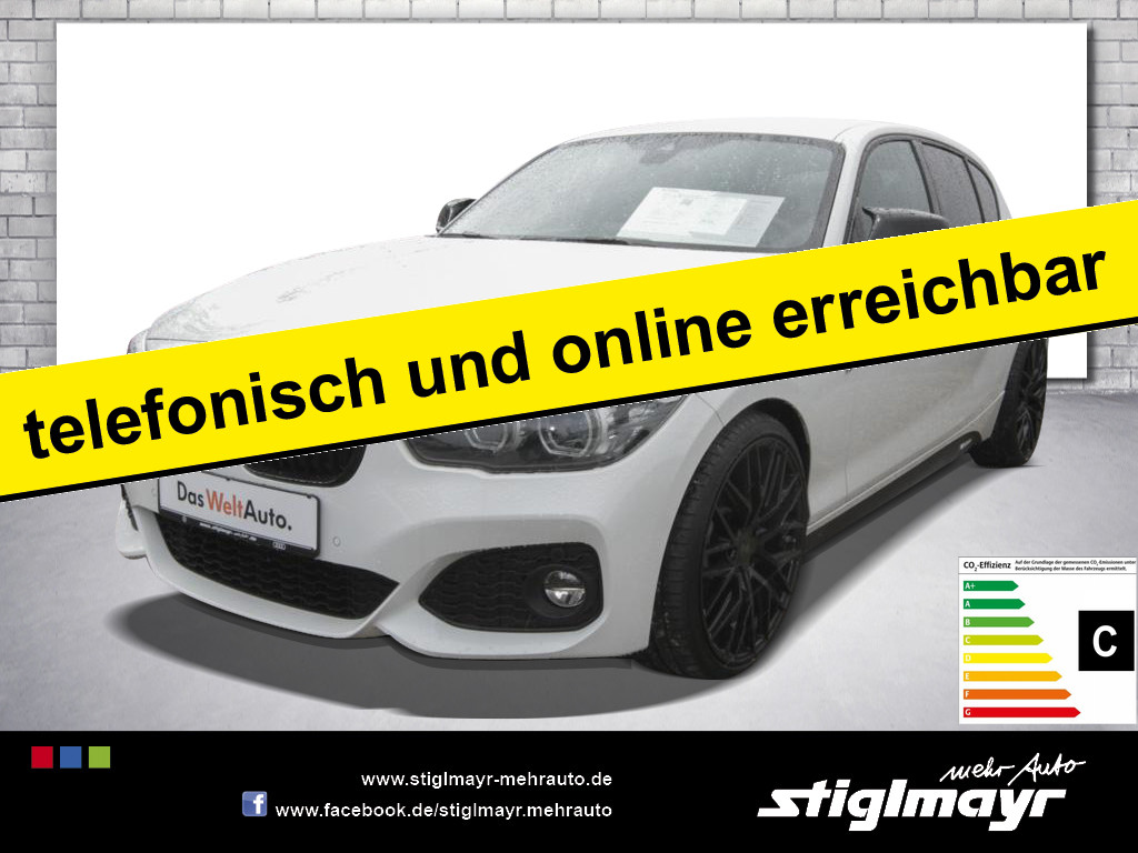 BMW 125 i M Sport Shadow Steptron LED+LEDER+NAVI+19`, Jahr 2018, Benzin