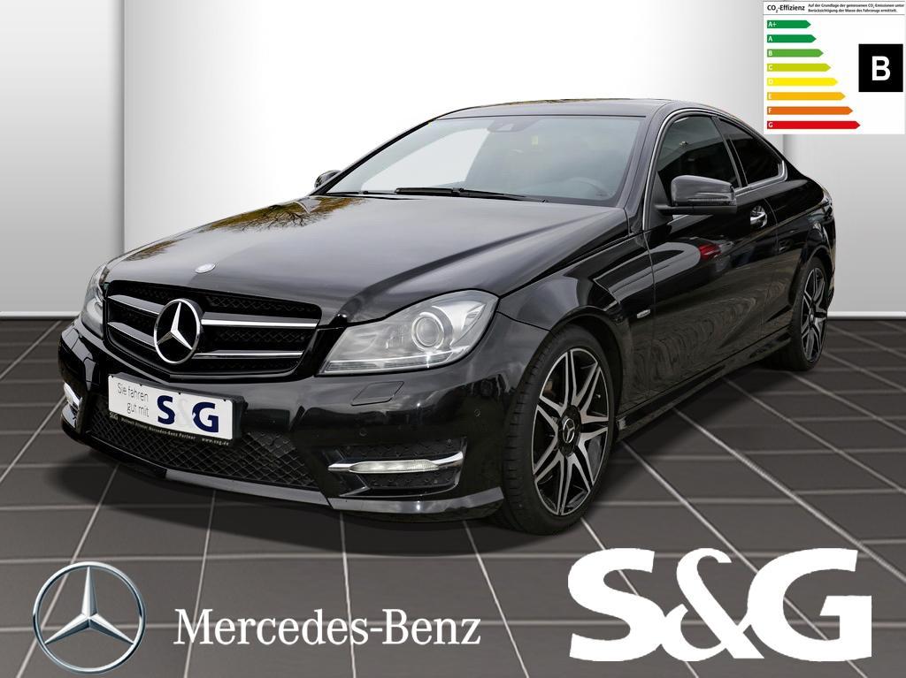 Mercedes-Benz C 250 CDI Coupé Sport AMG-STYLING R.Kam/COMAND/, Jahr 2012, diesel
