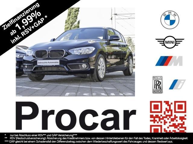 BMW 120i 5-Türer Advantage Automatik PDC Tempomat, Jahr 2017, Benzin