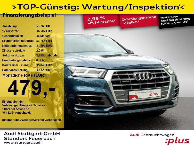 Audi Q5 Sport 2.0TDI quattro S line Pano Navi AHK ACC, Jahr 2018, Diesel