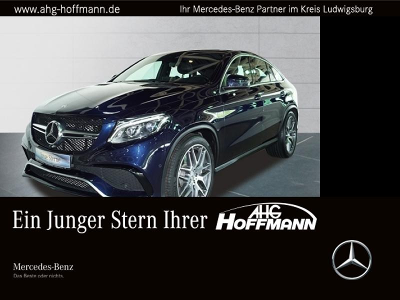 Mercedes-Benz GLE 63 AMG 4M Coupé AMG+Perf.Abgasa.+Comand+Pano, Jahr 2017, petrol