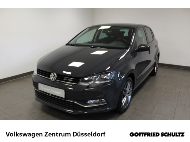 Volkswagen Polo 1.2 TSI Allstar *LED*AHK*GRA*SHZ*Alu*FSE*, Jahr 2016, Benzin