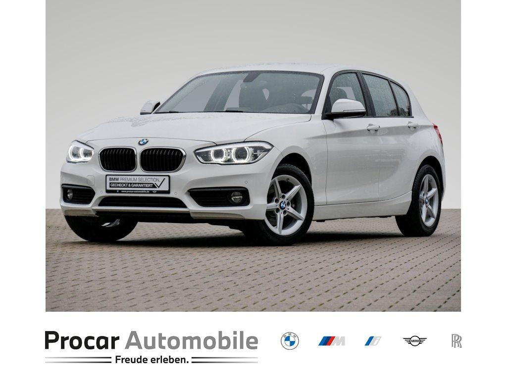BMW 120i 5-Tuerer Advantage HiFi LED Navi Bus. Shz, Jahr 2018, Benzin
