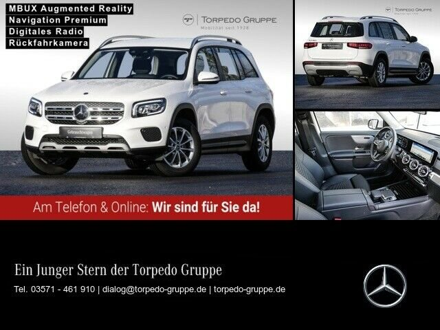 Mercedes-Benz GLB 180 d STYLE LED+MBUX+KAMERA+SHZ+EASY-PACK++, Jahr 2020, Diesel