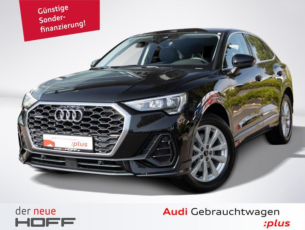 Audi Q3 Sportback LED Licht Leder Navi AHK Komfort Ke, Jahr 2020, Benzin