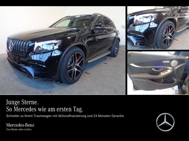 Mercedes-Benz GLC 63 AMG S 4M PDC,LED,Distronic,Kamera,AHK, Jahr 2018, petrol