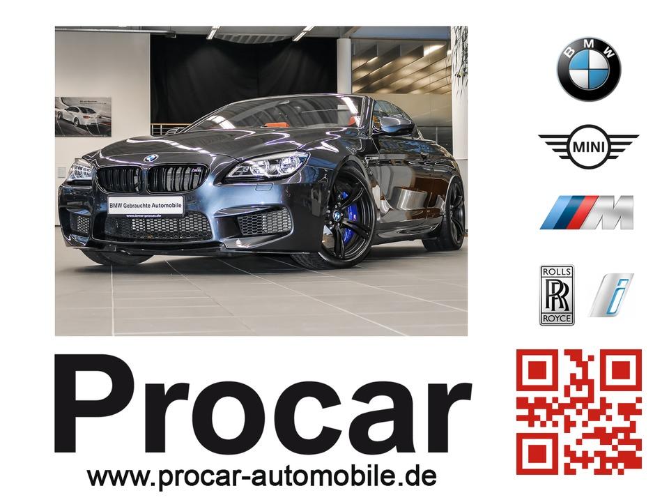 BMW M6 Cabrio M DKG Head-Up LED B&O Surround View, Jahr 2015, petrol