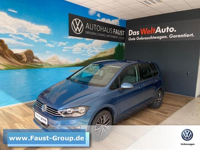 Volkswagen Golf Sportsvan Allstar Climatronic Navi Bluetooth, Jahr 2016, Benzin
