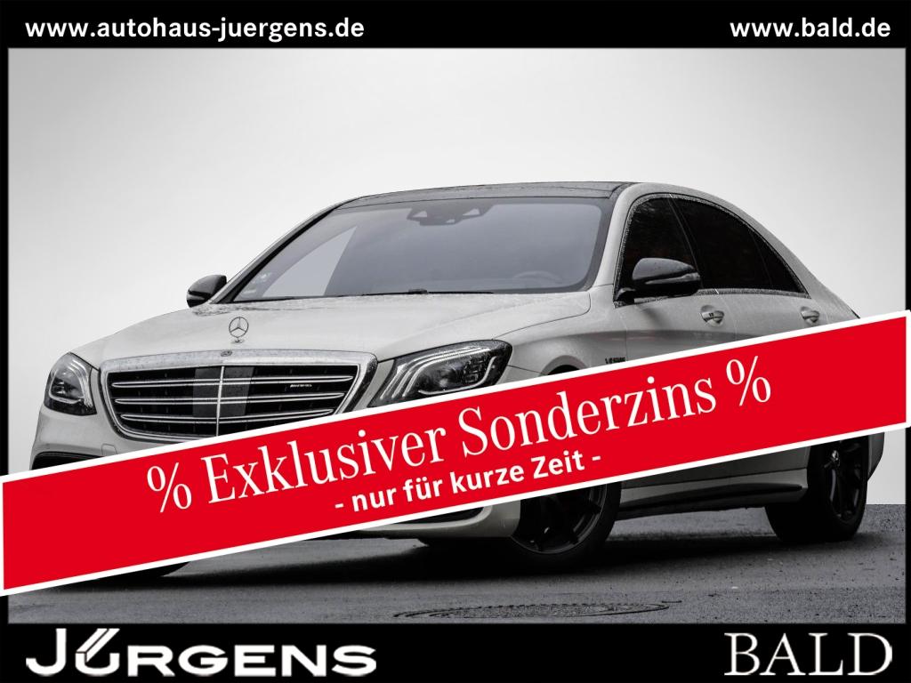 Mercedes-Benz S 63 AMG 4M+ L Carbon/Burm3D/Pano/HUD/360/Memo, Jahr 2019, Benzin