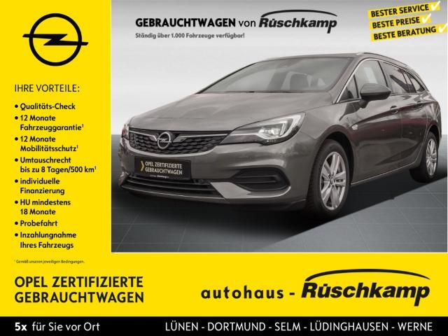 Opel Astra K Sports Tourer Elegance Start Stop 1.2 Turbo EU6d Rückfahrkamera Apple CarPlay, Jahr 2020, Benzin