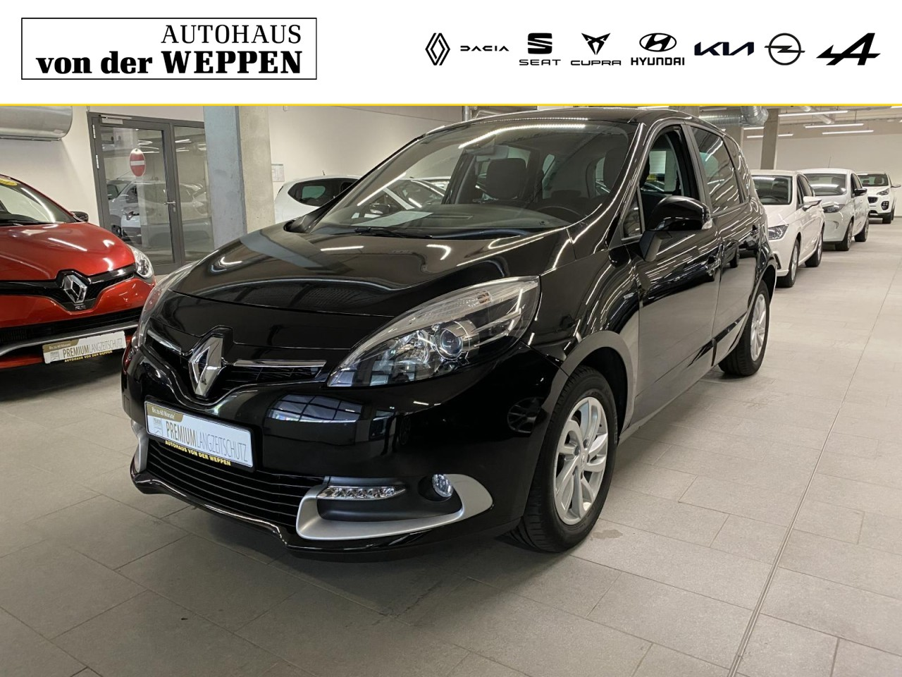 Renault Scenic III Limited Sitzheizung, Klima, FSP, Jahr 2015, Diesel