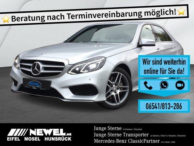 Mercedes-Benz E 350 4M *AMG*AHK*DISTRONIC*LED*AIRMATIC*TOTW*, Jahr 2014, Benzin