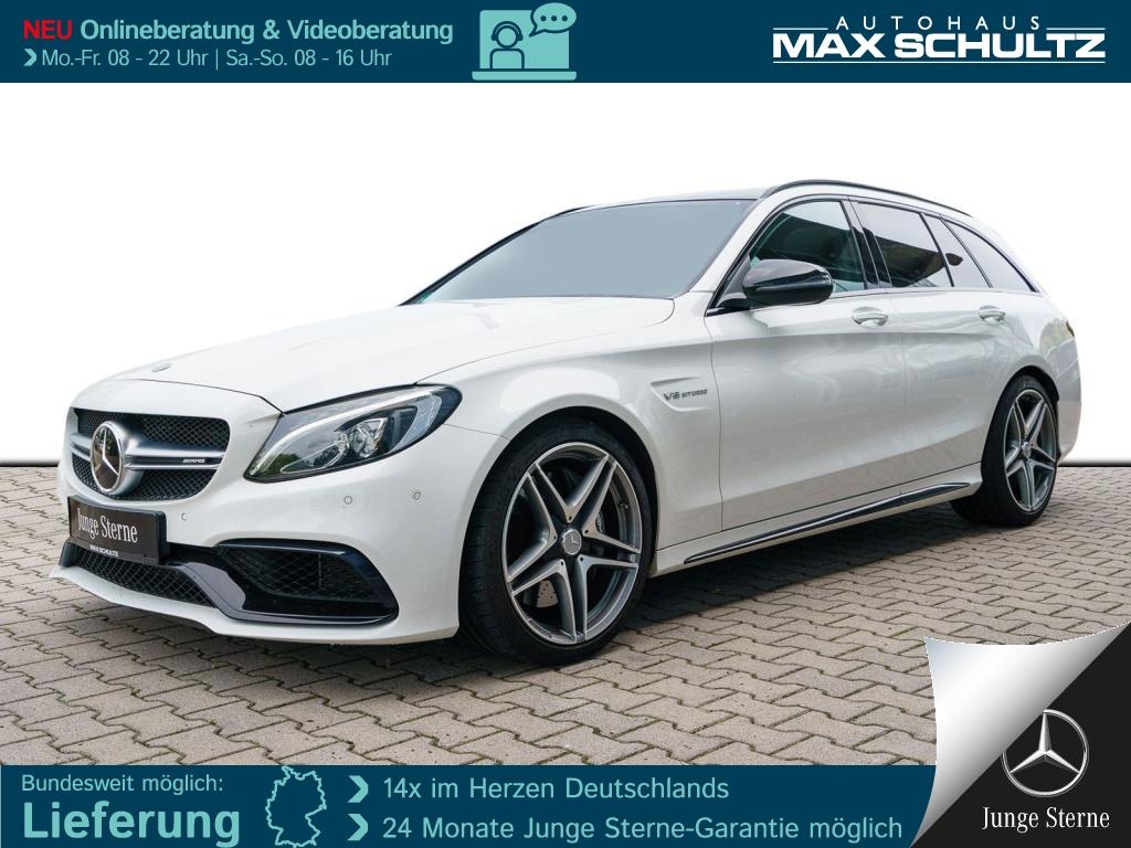 Mercedes-Benz C 63 AMG T NIGHT*FAP-PLUS*KEYL.-GO*PSD*COMAND*, Jahr 2017, Benzin