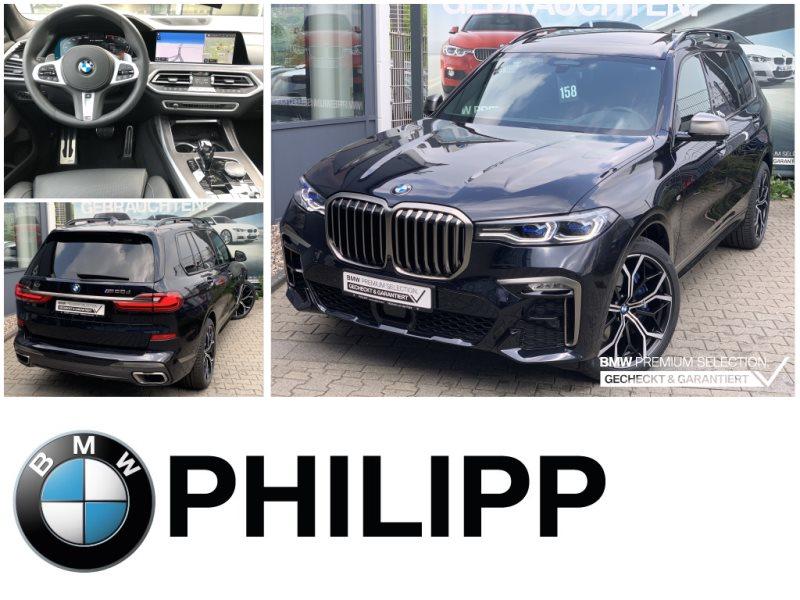 BMW X7 M50d LEA ab 1375,-HUD h&k Laser St.Hz. HUD Sky AHK, Jahr 2020, Diesel