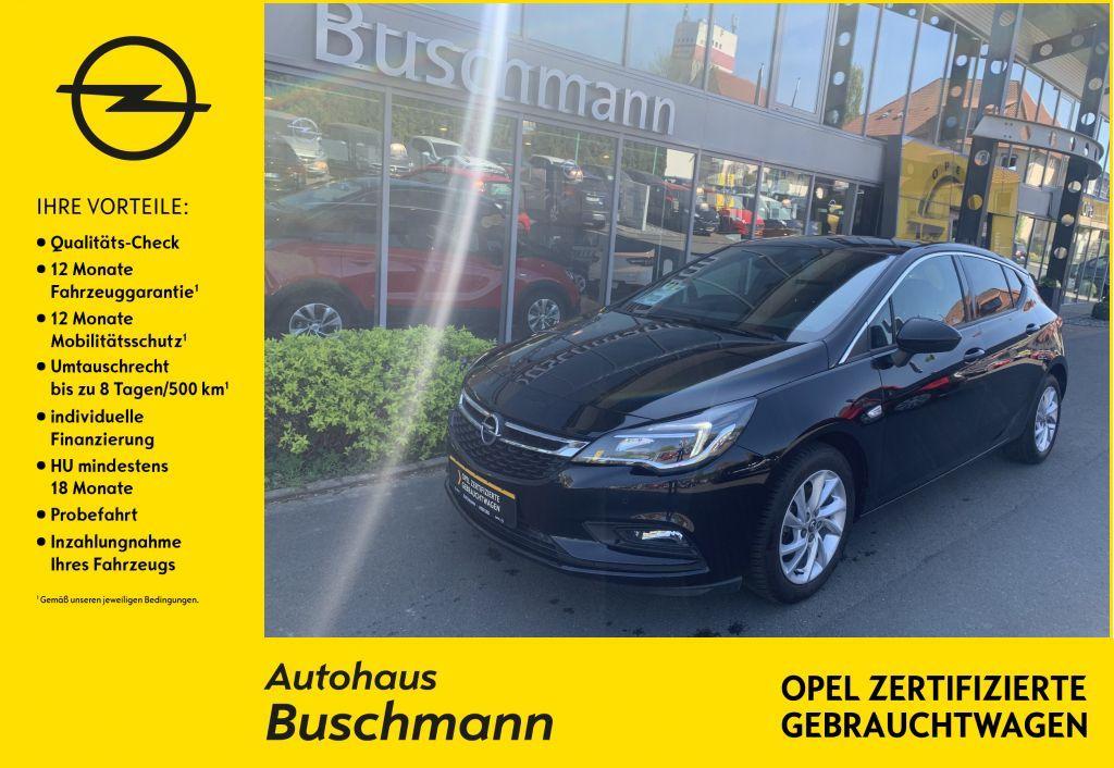 Opel Astra 1.4 Turbo Dynamic+NAVI+RFK+PDC+AGR+, Jahr 2018, Benzin