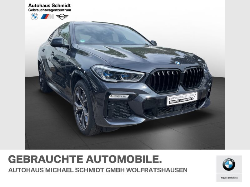 BMW X6 xDrive40i M Sportpaket*21 Zoll*Panorama*AHK*Travel Comfort*, Jahr 2020, Benzin