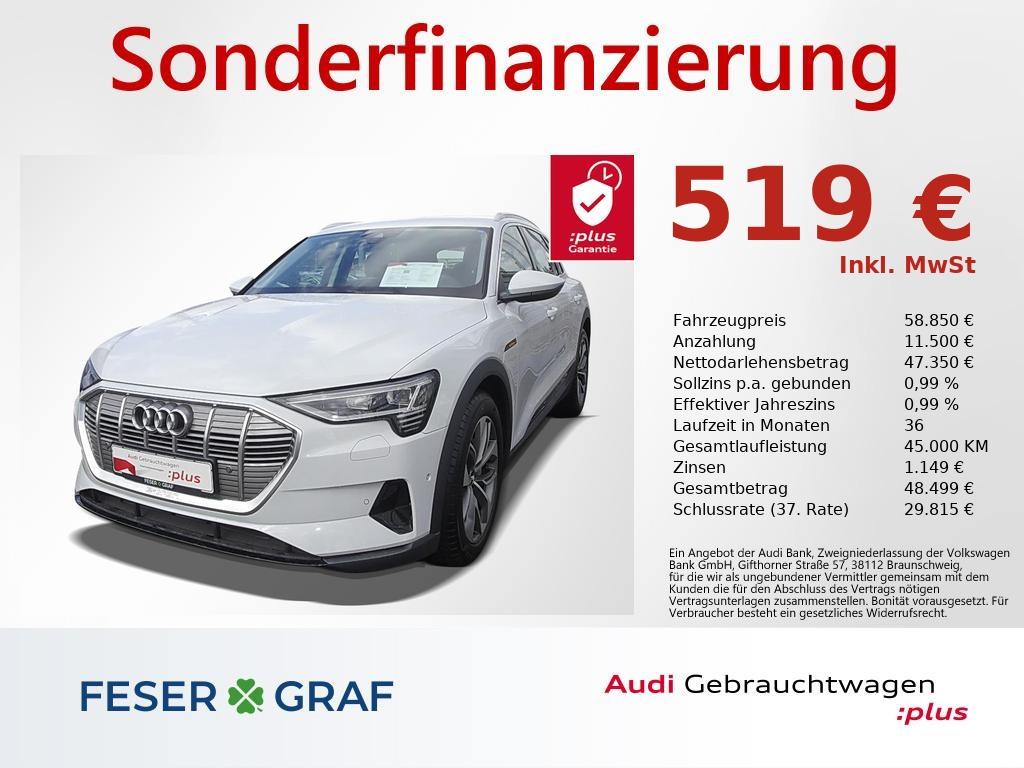 Audi e-tron 50 quattro NAVI,LED,LEDER,ACC,LUFT,KAMERA, Jahr 2020, Elektro