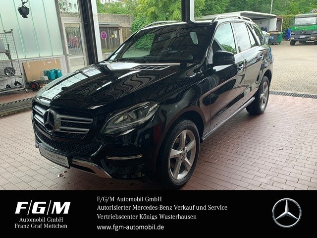 Mercedes-Benz GLE 250 d 4M COMAND/PTS/9-G/el.Heckklappe/ AHK, Jahr 2017, Diesel