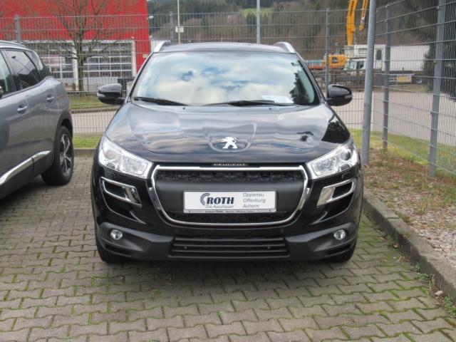 Peugeot 4008 Allure 4WD 1.6 HDI FAP 115 Navi AHK 8 fach EPH vo+hi, Jahr 2015, Diesel