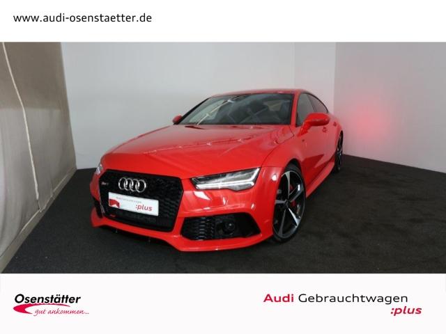 Audi RS7 Sportback 4,0 TFSI qu./Matrix-LED/ABT-Power/BOSE/HuD/Navi+, Jahr 2015, petrol