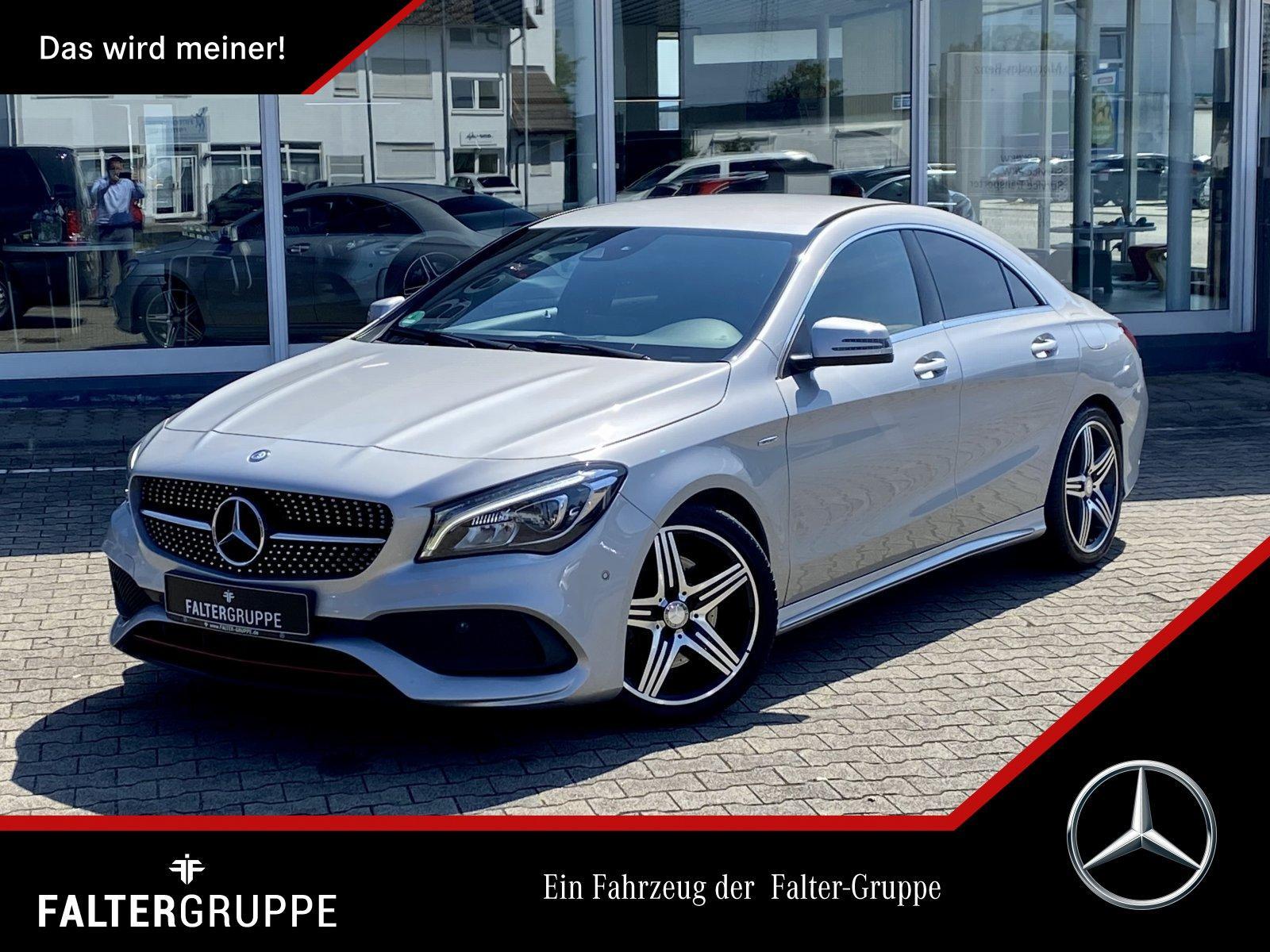 "Mercedes-Benz CLA 250 SPORT 7.G+AMG+NAVI+LEDER+KAMERA+LED+18"", Jahr 2016, petrol"