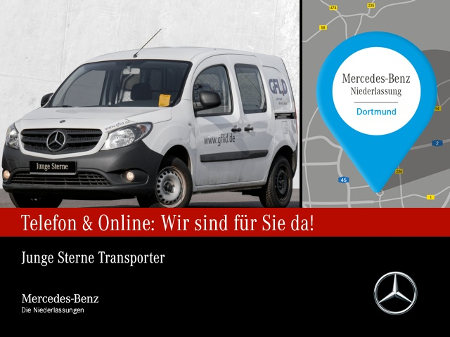 Mercedes-Benz Citan 112 Kasten Lang*Klima*Parktronic*, Jahr 2017, Benzin