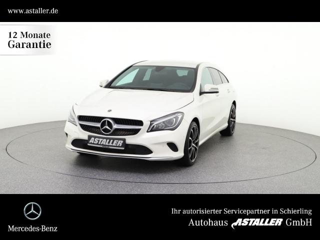 Mercedes-Benz CLA 180 d SB LED+Chrom+AHK+Navi+18''+PTS+Busines, Jahr 2017, Diesel