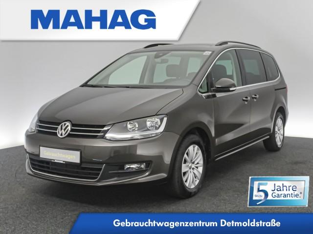 Volkswagen Sharan 2.0 TDI Comfortline 7-Sitzer Navi Sitzhz. ParkPilot FrontAssist 16Zoll DSG, Jahr 2020, Diesel