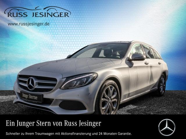 Mercedes-Benz C 300 h T AVANTGARDE STANDHZG + COMAND + LED-ILS, Jahr 2015, hybrid_diesel