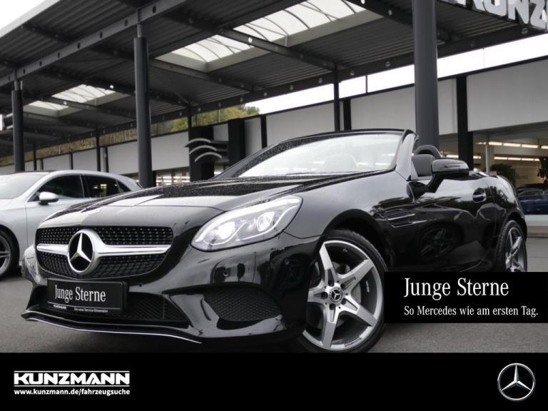 Mercedes-Benz SLC 300 AMG-Felgen''18 Comand LED Panorama Memor, Jahr 2020, Benzin