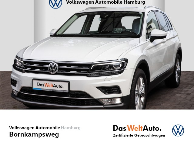Volkswagen Tiguan 2,0 TSI Highline 4M NAVI/KLIMA/AHK/PDC, Jahr 2017, Benzin