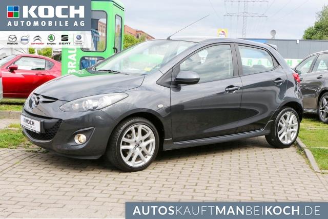 Mazda 2 1.5l MZR 102PS 5Türer SPORTS SHZ Scheckheft, Jahr 2014, Benzin