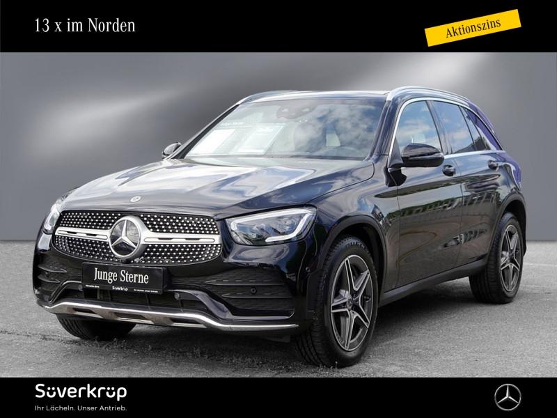 Mercedes-Benz GLC 400 d 4M AMG Burmester Airmatic PanoD 360°, Jahr 2020, Diesel