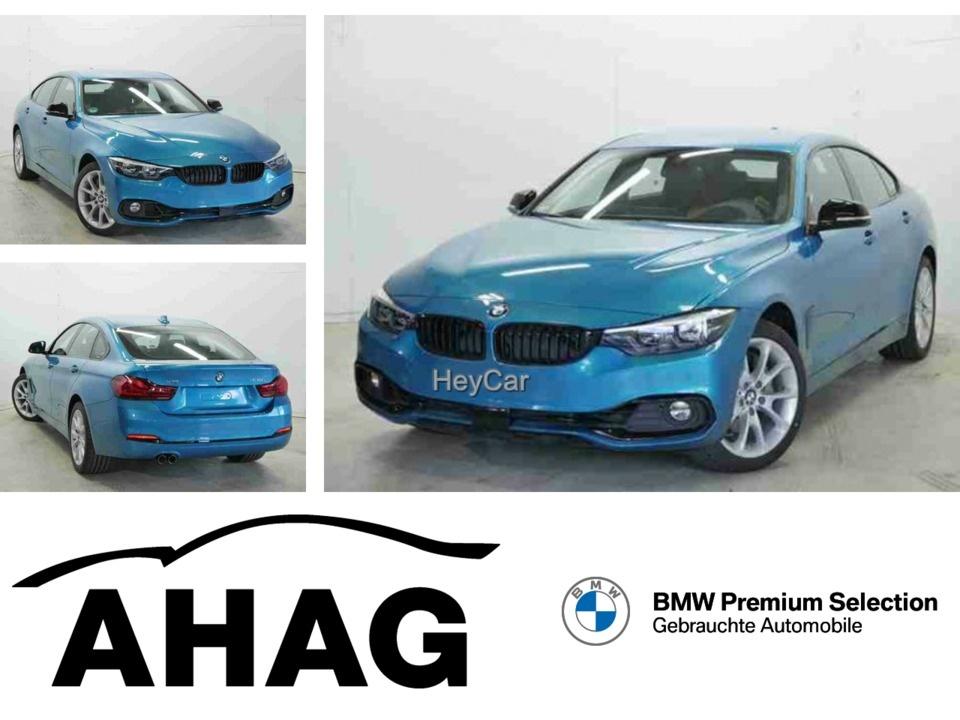 BMW 435 Gran Coupe xDrive D Sport Line 498Euro Leasing, Jahr 2019, Diesel