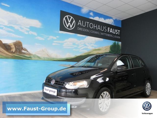Volkswagen Polo Trendline KLIMAANLAGE Klima el. Fenster, Jahr 2012, petrol