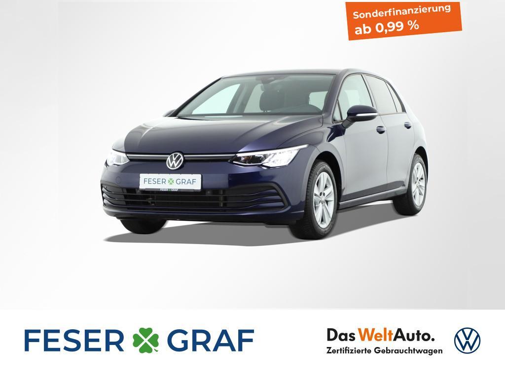 Volkswagen Golf 1.5 TSI Life LED ACC Navigationssystem, Jahr 2020, Benzin