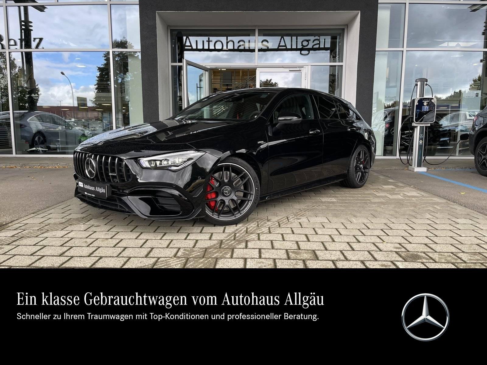 Mercedes-Benz CLA 45s 4M Shooting Brake NIGHT+PANO+PERF-SITZE+, Jahr 2021, Benzin